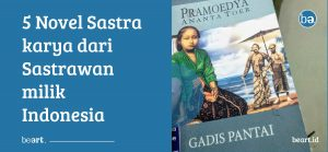 Novel sastra cover beart