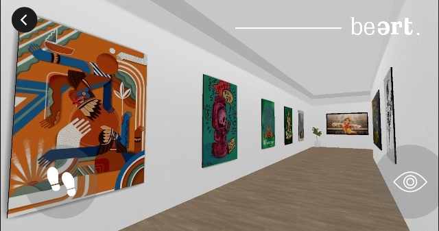cover beart pameran desain virtual